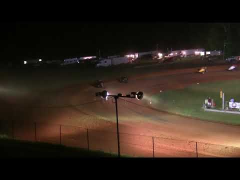 Sprint Car A Main at Bloomington Speedway 9-15-17
