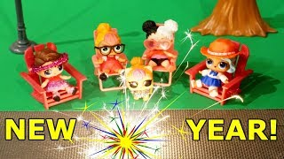 LOL SURPRISE DOLLS Celebrate NEW YEARS EVE With Posh & Fireworks!