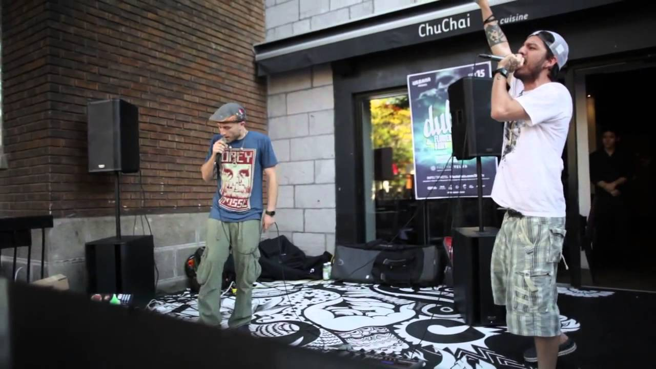 Dub FX | LIVE Street performance in Montreal | Sept 12, 2012