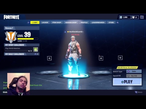 Fortnite battle royale - late night with subs, solo later
