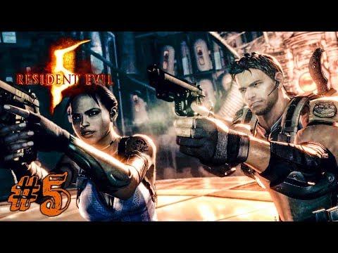 ТАРАКАШКА! ► Resident Evil 5 Прохождение #5 ► ХОРРОР ИГРА