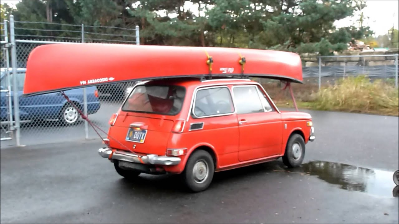 "Honda Cars Of Columbia >> Honda N 600 ""Canoe Car"" - YouTube"
