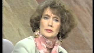 Annie Murphy on The Late Late Show 1993.