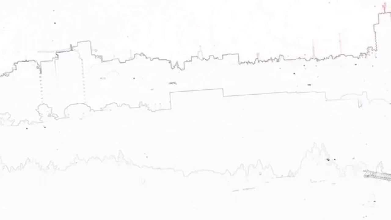 Line Drawing Jerusalem : Drawing of skyline in jerusalem youtube