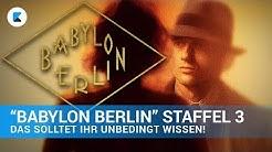 Babylon Berlin - Was bisher geschah!