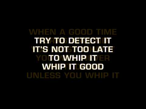 Devo - Whip It (Karaoke)