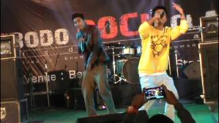 Repeat youtube video Thangkhi and Birhang (Nwjwr) at Bodo Rock Clash II