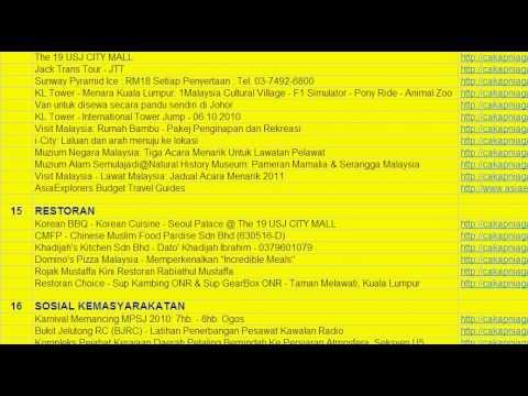 Senarai Artikel Cakap Niaga: goo.gl/2hKHb from YouTube · Duration:  28 seconds