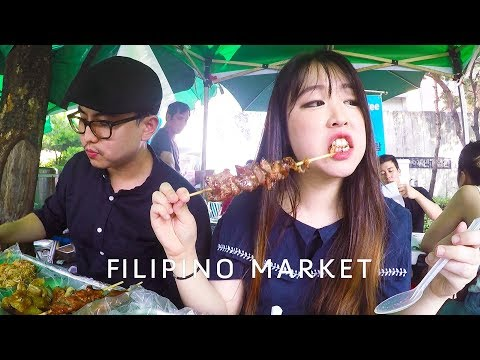 Filipino Street Food in Korea (feat. Stich Choi)