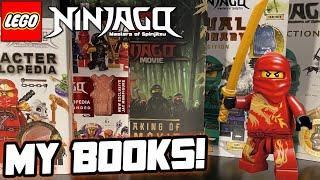My Entire Ninjago Book Collection! (2011-2020) 📚