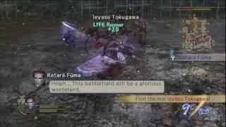 Samurai Warriors 2 Xbox 360 Gameplay - Fluid Ninja Movement