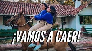 MONTAMOS UN CABALLO MUY BRAVO *NO GRITES* -DosRayos