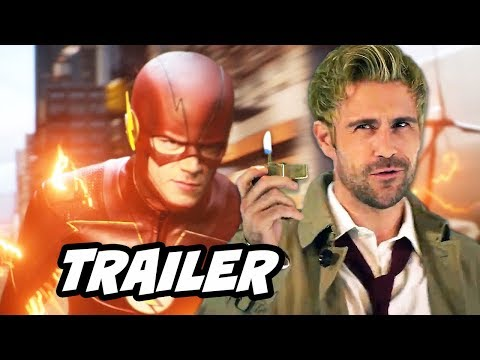 The Flash Season 4 Episode 2 Promo - Constantine and TOP 10 Q&A