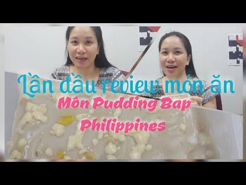 Review món ăn món Bắp Maja Blanca Mais – Philippines Corn Pudding