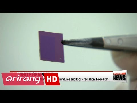 Local research team develop new ways to produce white graphene material