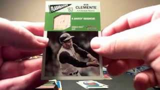 30 2012 Topps Value Boxes Heritage Baseball Break Roberto Clemente Mojo
