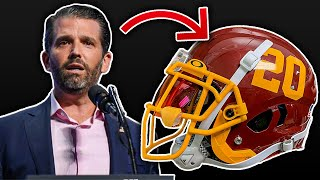 Donald Trump Jr. Has An Idea For Washington's New Name That's Even MORE OFFENSIVE Than Redskins!