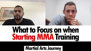 What Should I Focus on in Starting MMA Training • Ft. Practical Combat Martial Arts