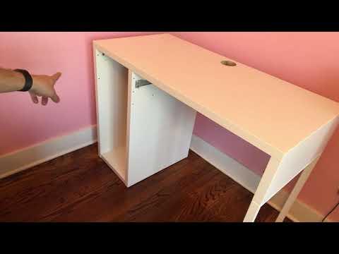 Come si monta un tavolo della MICKE comprato da IKEA