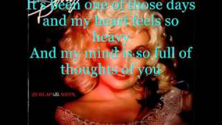 Watch Dolly Parton One Of Those Days video