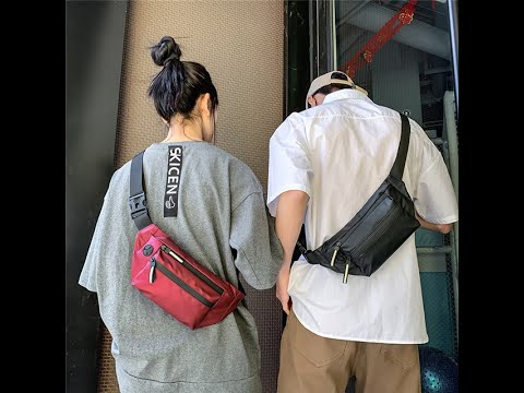 Hip Hop Unisex Chest Sling Bags