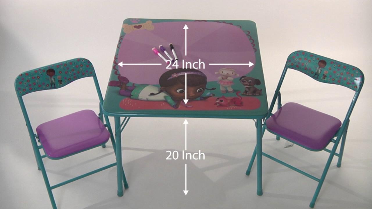Doc Mcstuffins Pet Vet Erasable Activity Table Set