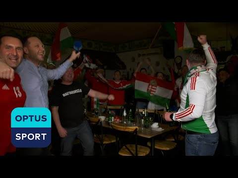 Australian-Hungarians celebrate Hungary's heroic performance against France at the EURO 2020