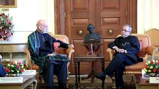 President of the Islamic Republic of Afghanistan calls-on the President on May 27, 2014