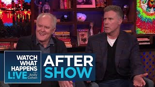 After Show: Will Ferrell's Fave On-Screen Male Kiss   WWHL
