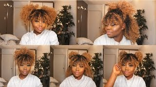 5 SIMPLE HAIRSTYLES WITH CURLY HAIR! - WIG VERSATILITY