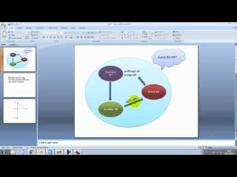 Học AutoCAD .NET trực tuyến - Bài 1