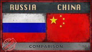 RUSSIA vs CHINA - Army Comparison - 2018
