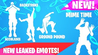 Fortnite | **NEW LEAKED EMOTES** Accolades, Backstroke, Point It Out, Cat Flip... [COMING SOON]
