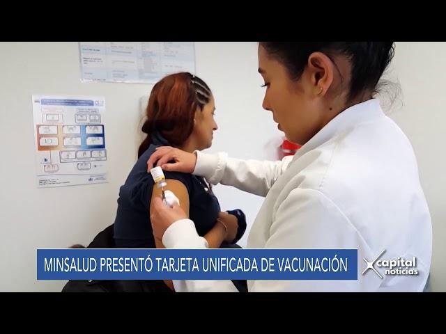 Minsalud presentó Tarjeta Unificada de Vacunación para migrantes venezolanos