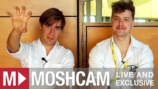 The Hives talk hot tubs, surfing and the Texas 2-Step   Moshcam