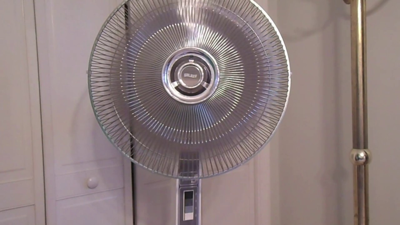 Lasko Galaxy Fan : Quot galaxy lasko oscillating pedestal fan youtube