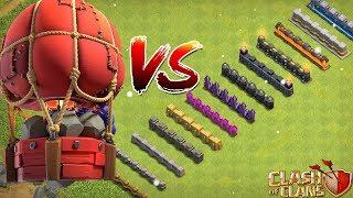 FELSENWERFER gegen ALLE MAUERN! ☆ Clash of Clans ☆ CoC