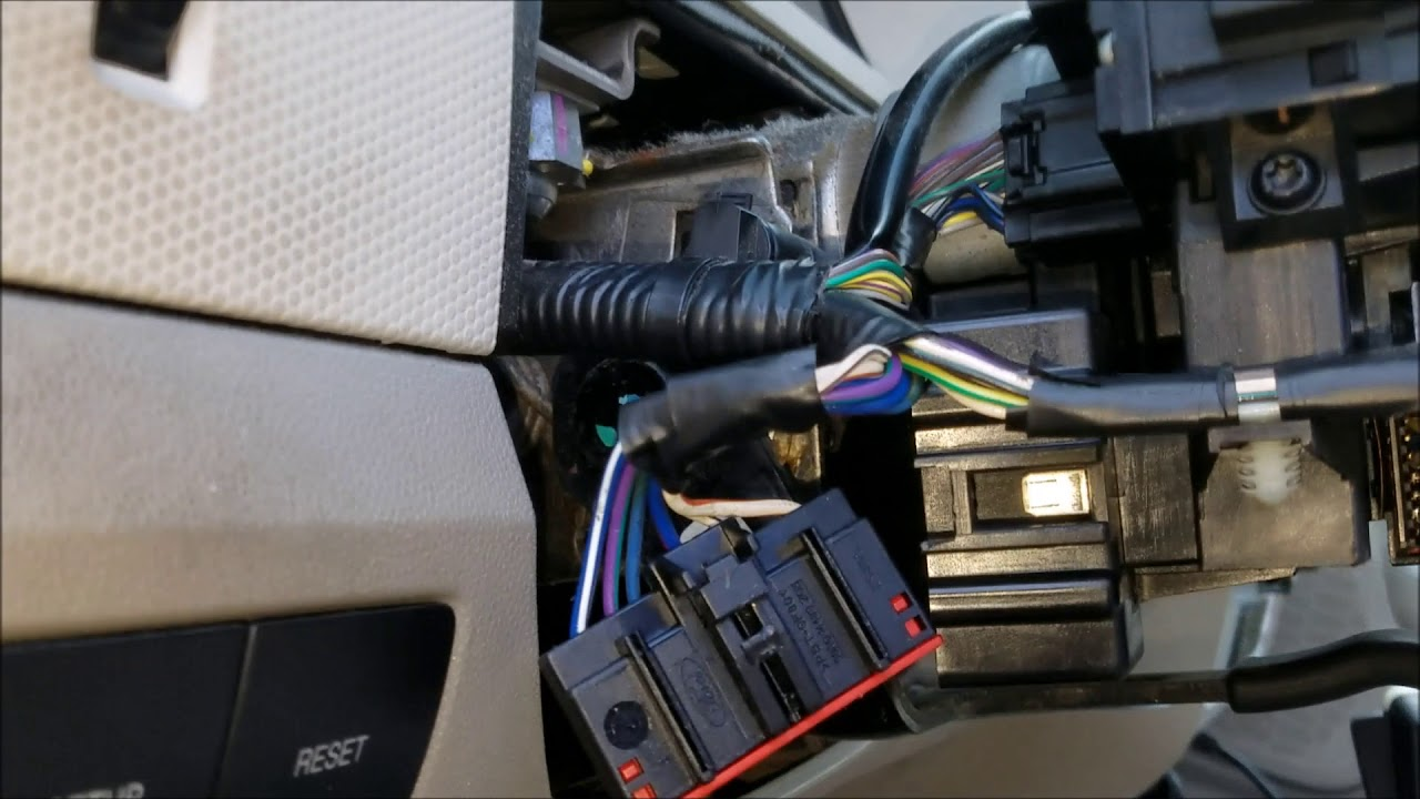 mercury mariner/ford escape ignition switch replacement