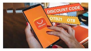 Aliexpress coupon code / get discount now...