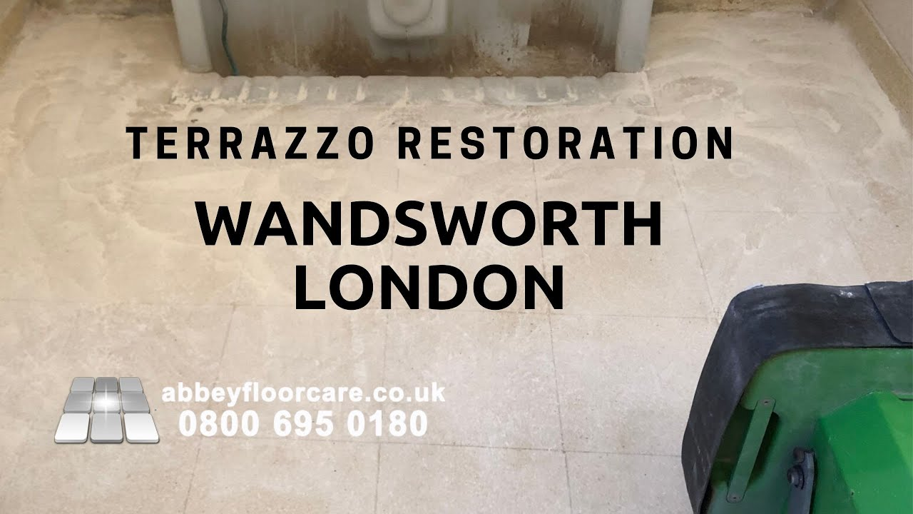 Considerations To Know About Terrazzo Restoration Wandsworth