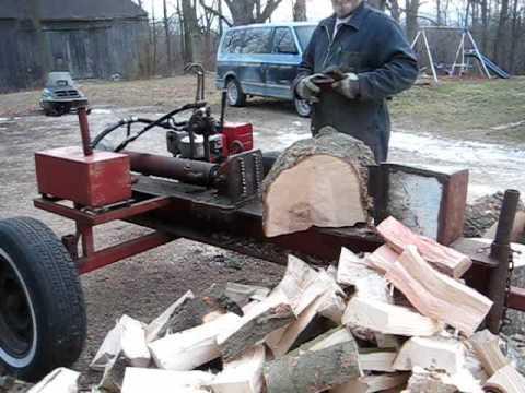 task force hydraulic log splitter manual