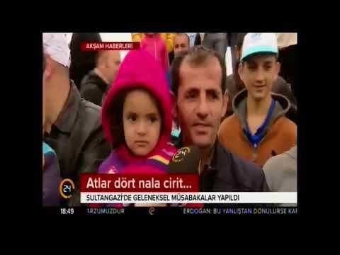24 TV- İstanbul Sultangazi' de Atlı Cirit Şenliği gerçekleştirildi.