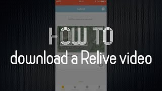 ... ever wondered how to download the video created by relive.cc? in this short i show you do it