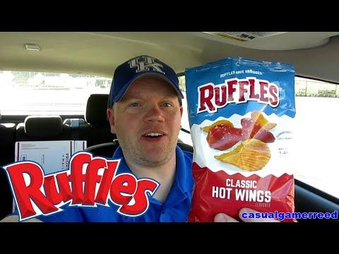 Reed Reviews Ruffles Classic Hot Wings