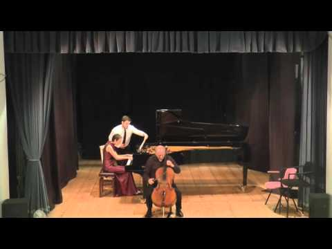 Dmitri Shostakovich - Cello Sonata - Op.40 - Misha Quint & Irina Nuzova (2015) full