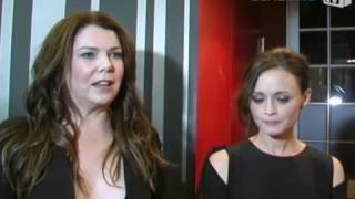 Gilmore Girls: A year in the life. Interview with Lauren Graham & Alexis Bledel / Fan-Event Berlin