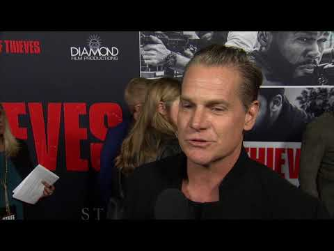 Den Of Thieves LA Premiere  Itw Brian Van Holt  video