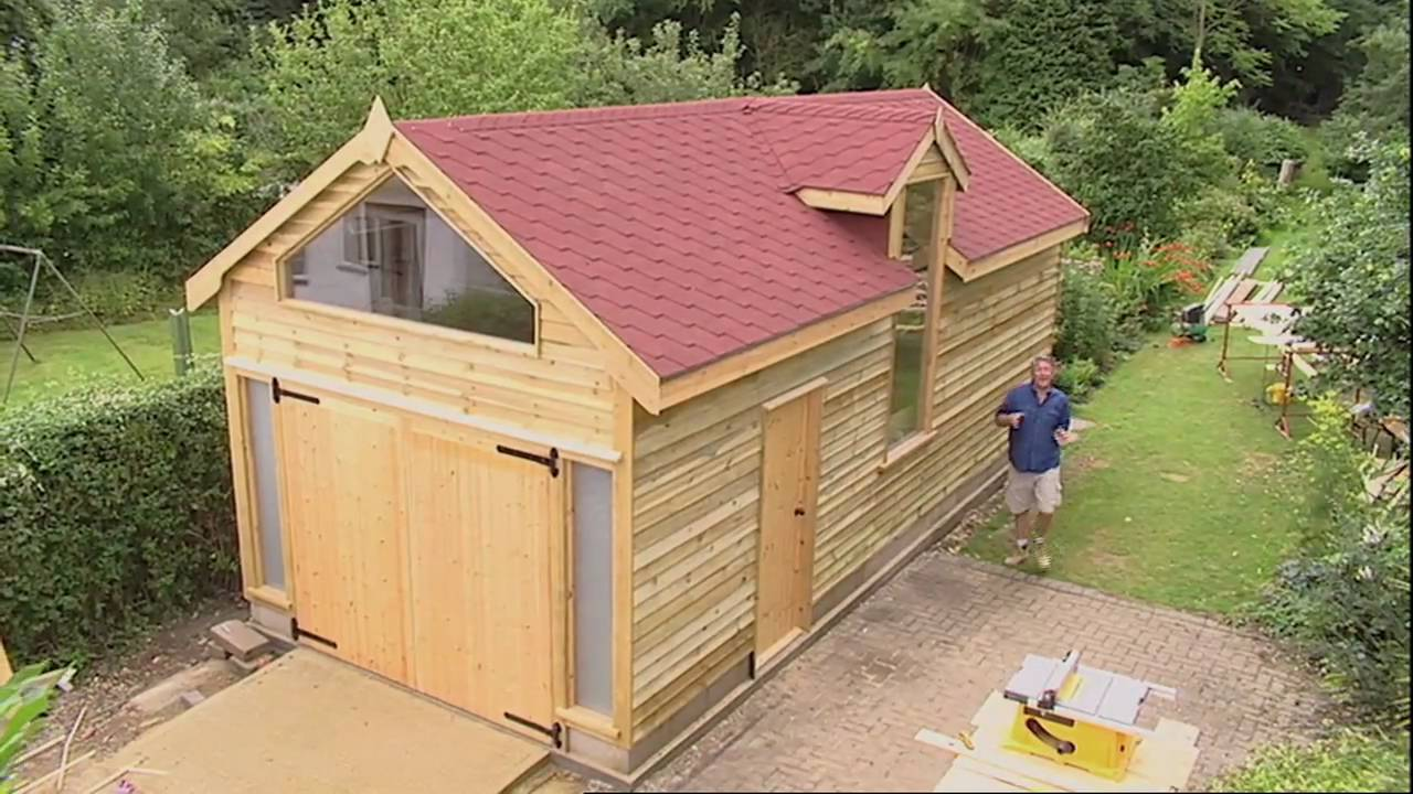 Tommy 39 s ultimate workshop introduction youtube for Design and build your own shed