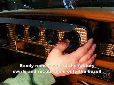 2011 Camaro Fuse Box Quot How To Quot Install A Dash Bezel In A 1970 1981 Trans Am