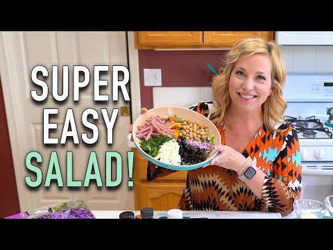 Mediterranean Chopped Salad CruiseTipsTV Kitchen